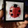 Ladybug Cross Stitch
