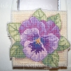 Pansy Cross Stitch