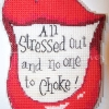 All Stressed Out Cross Stitch
