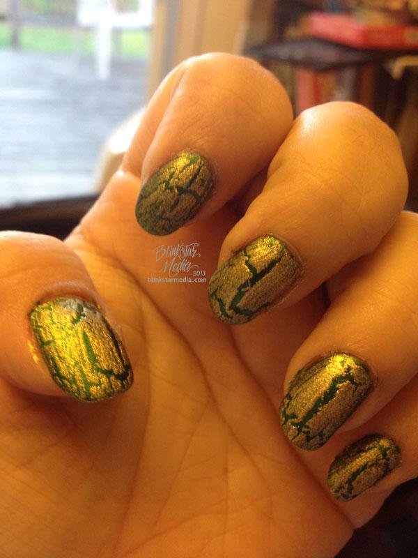 Oakland A's Manicure