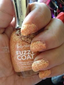Sally Hansen Fuzzy Coat Manicure