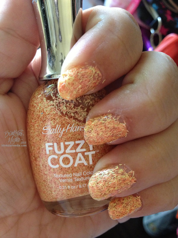 Fuzz Off, Sally Hansen Fuzzy Coat | TrishaLyn.com