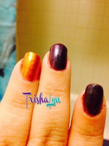 Julep Ciara with Tatiana Accent Nail Manicure