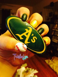 Oakland Athletics Manicure