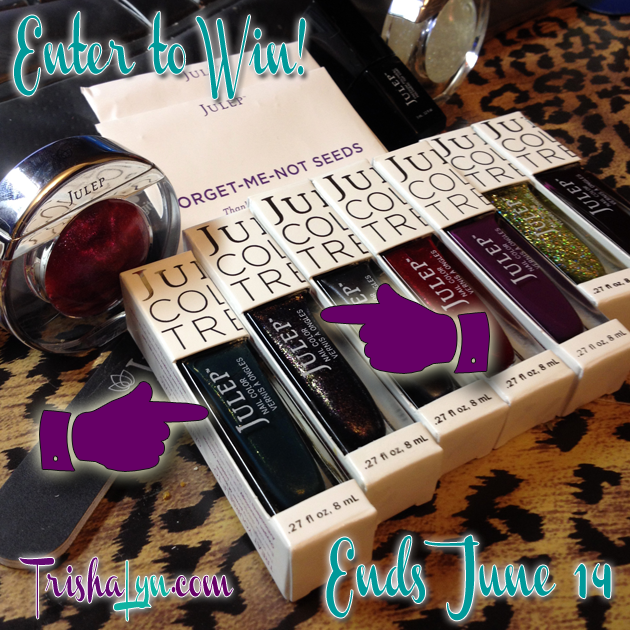 Julep Polish Giveaway!  Valerie and Glam Roc