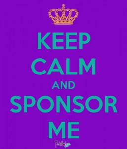 Keep Calm and Sponsor Me