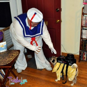 Halloween Ghostbuster & Stay-Puft Marshmallow (wo)Man