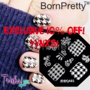 Exclusive 10% off at Born Pretty Store