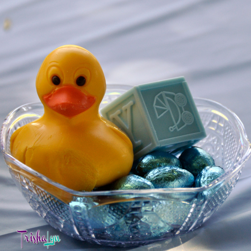 Rubber Ducky Baby Sprinkle Centerpieces