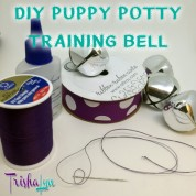 DIY Puppy Potty Training Bell