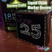 Stardom Crafts Liquid Chalk Markers Review