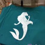 Ariel Bleach Silhouette Shirt