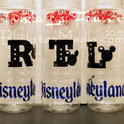 DIY Disneyland Water Bottles