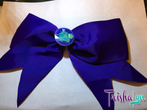 Haunted Mansion Hatbox Ghost Hair Bow