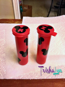 Mickey Quarter Holders for Pressed Penny Machines