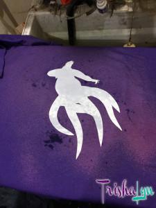 Ursula Bleach Silhouette Shirt