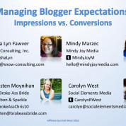 Managing Blogger Expectations: Conversions vs. Impressions