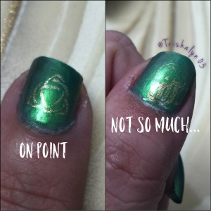 St. Patrick's Day Nail Stamping 2016