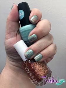 LA Colors Color Craze Fresh with essie tassel shaker on top