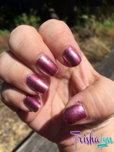 Ruby Wing Color Changing Polish Meadow