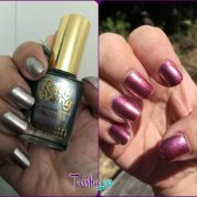 Two Manicures in One Bottle: Color Changing Nail Polish