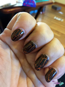 Julep Pam with Black Crackle