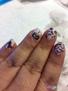 OPI with Sinful Colors Black on Black Stamping