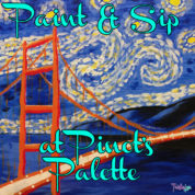 Paint & Sip at Pinot's Palette Alameda