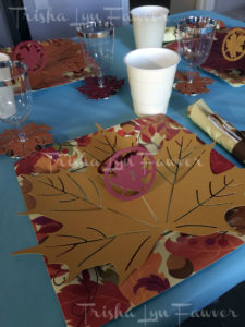 Thanksgiving Papercraft