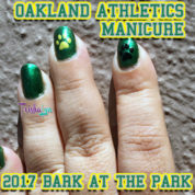Bark at the Park 2017 Oakland Athletics Manicure