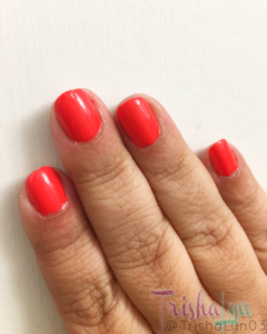 Finger Paints Rococo Orange Gel Polish