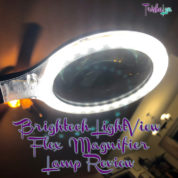 Brightech LightView Flex LED Magnifier Lamp Review